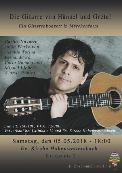 Gitarrenkonzert in Märchenform @ Ev. Kirche Hohenwettersbach | Karlsruhe | Baden-Württemberg | Deutschland